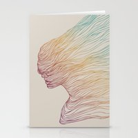 huebucket Stationery Cards featuring FADE by Huebucket