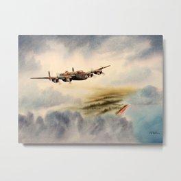 Avro Lancaster Aircraft Metal Print