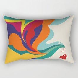 Love Message Rectangular Pillow