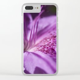 The beauty of the lilac Clear iPhone Case