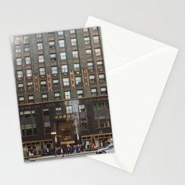 Chicago with a touch of Gold Stationery Cards