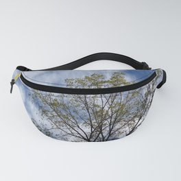 Poodle Clouds and Tree Fanny Pack