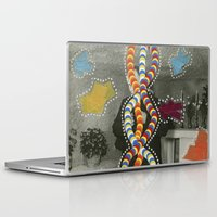 dna Laptop & iPad Skins featuring DNA by Naomi Vona