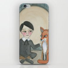 Billy and the Fox iPhone & iPod Skin