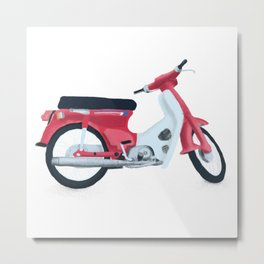 japan scooter Metal Print