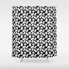 Mod Flower Shower Curtain