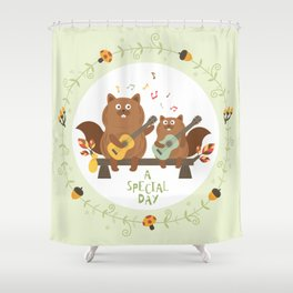 a special day Shower Curtain