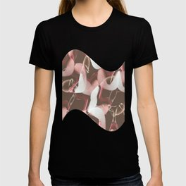 Raspberry Sandal Twist T-shirt