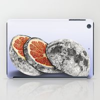 astronomy iPad Cases featuring In which there is a mandarin in the moon by J.P Ormiston