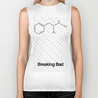 breaking bad Biker Tanks featuring Breaking Bad by Karolis Butenas