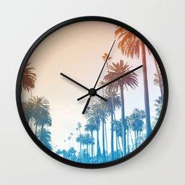 Summer in LA Wall Clock