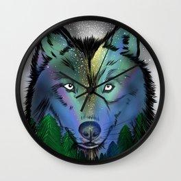 Lobo del cielo - Salmo 34, 5 Wall Clock