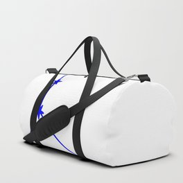 Cancer (Blue & White Sign) Duffle Bag
