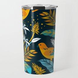 Birds in the night Travel Mug