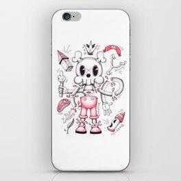 Skulltoons No.4 iPhone Skin