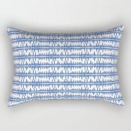 Ink soundwaves Rectangular Pillow