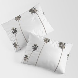 Row of palm trees Pillow Sham