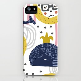 Cute animals iPhone Case