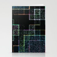 tetris Stationery Cards featuring Tetris by Audrey Erickson