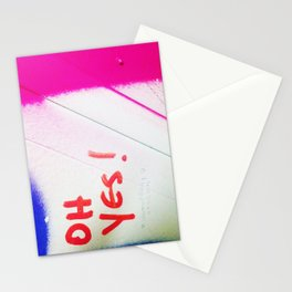 oh yes Stationery Cards