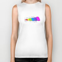 queer Biker Tanks featuring Queer, Not Mythical by reallydorky