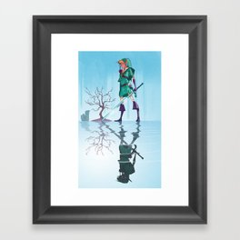 Conquer Yourself Framed Art Print