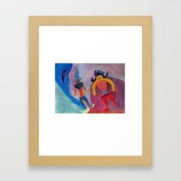 Moon's Friends Dream State Framed Art Print