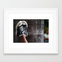 feet Framed Art Prints featuring Feet by Sara_photographer