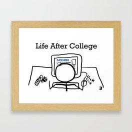 Post Grad Framed Art Print