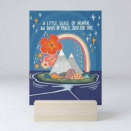 A little slice of heaven Mini Art Print