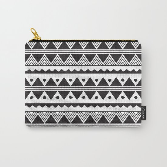 African Tribal Pattern No. 2 Carry-All Pouch
