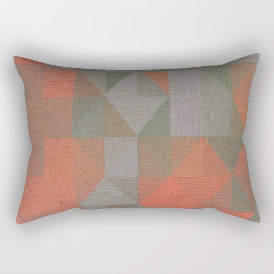 Faceted Vibes Rectangular Pillow
