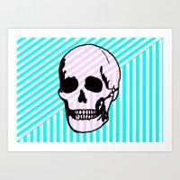 Candy Flag Art Print