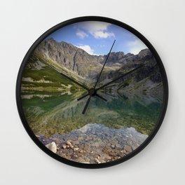 Nad stawem Wall Clock