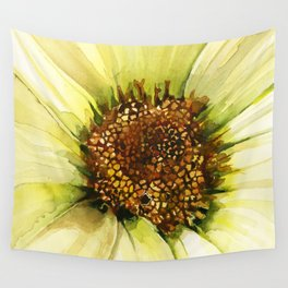 Daisy Disc Florets Wall Tapestry
