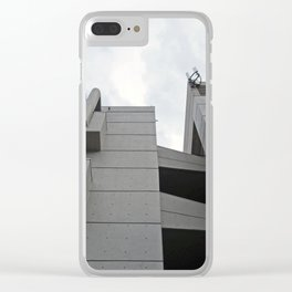 brutalist walkway - roger stevens building - leeds Clear iPhone Case