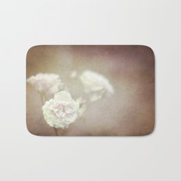 Roses Near Midnight  Bath Mat