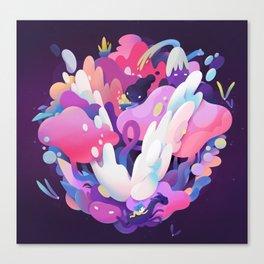 V Canvas Print