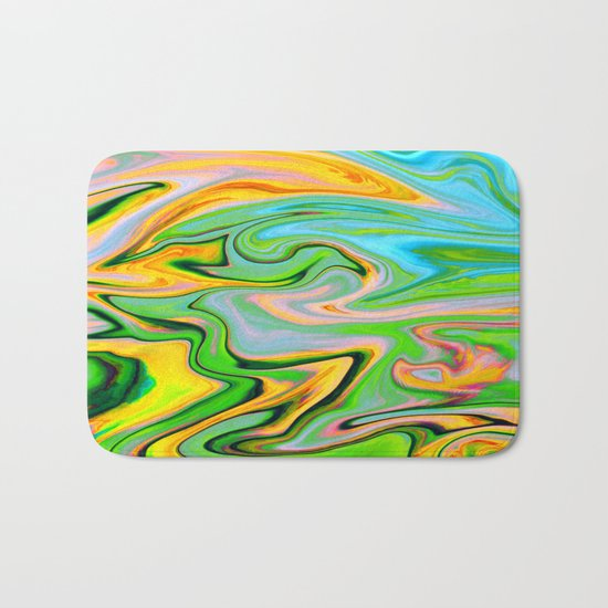 Marbled XIV Bath Mat