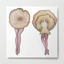 Fungi Faerie 6 Metal Print