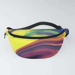 Colored Swirls 10 Fanny Pack