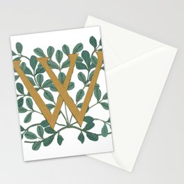 Forest Letter W Lite 2020 Stationery Cards
