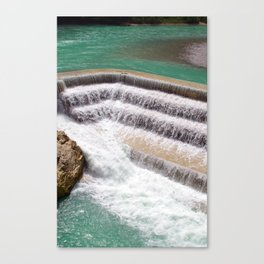 Lechfall Canvas Print
