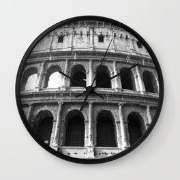 The Coliseum / Colosseum of Rome Wall Clock