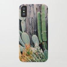 California Cactus iPhone X Slim Case