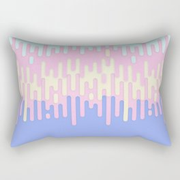 Summer Melting Frosting Rectangular Pillow