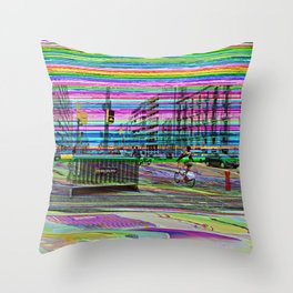 "Tuesday 12 March 2013: ""...'s no in between..."" Throw Pillow"