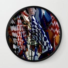Flags of Siena Wall Clock