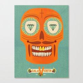 Calaverita. Canvas Print