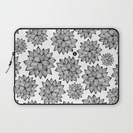 Flower Pattern Laptop Sleeve